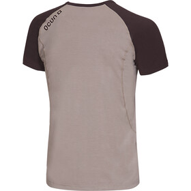 Ocun Bamboo T Blossom T-Shirt Uomo, simply taupe